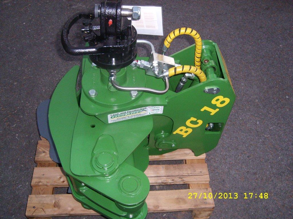BC 18 mit Rotator und DBV